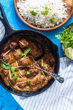 Think Indian food is difficult? This one pot mutton (lamb) kofta curry is super easy and made by forming spiced mutton keema (mince) into meatballs and simmering in a delicious gravy. A few simple ingredients is all it takes to make this easy curry in a hurry!