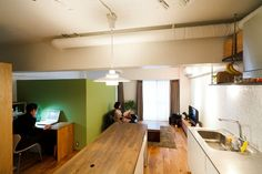 【リノベ暮らしな人々】仕切り壁をうまく利用した空間づくり