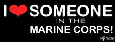 Repin if you love someone in the Marine Corps! Ooh-rah! #marines #military