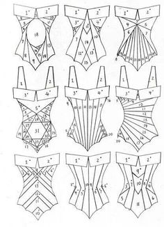 All Things Sewing and Pattern Making This is awesome, I wan Iris Paper Folding, Iris Folding Pattern, Pattern Cutting, Pattern Drafting, Pattern Making, Sewing Hacks, Sewing Crafts, Sewing Projects, Sewing Clothes