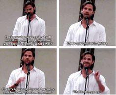 [SET OF GIFS] Jared convention panel #DallasCon2013