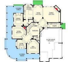 Plan W23203JD: Northwest, Farmhouse, Corner Lot, Craftsman, Premium Collection, Country, Photo Gallery, Luxury House Plans & Home Designs