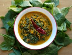 KEERAI KOOTU Spinach / Keerai is very healthy food for all ages. Cooking spinach at least twice a week is advisable. I am using spinach for today's recipe. You can use any keerai variety(aria…