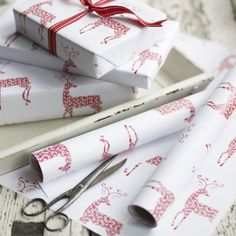 FROM MY WINDOW: Christmas wrapping ideas