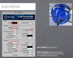 Vray Glass Frosted 3ds Max