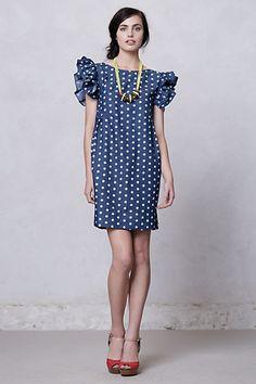 dolly chambray dress. karen walker for anthropologie.