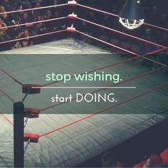 Stop Wishing Start Doing-Barbell Therapist Bag