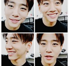Yongguk being precious. Such a cute baby.