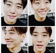 Yongguk being precious. Such a cute baby.