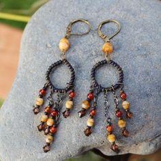 Chandelier earrings NWOT never worn Jewelry Earrings