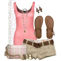 Summer Outfit by deborah