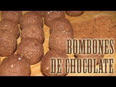 Bombones de Chocolate Dukan - Dukan Chocolate Bonbons - Receta Fase Crucero