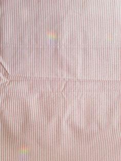 Martha Stewart Full Flat Sheet Pink Stripe Cotton Blend NWT #MarthaStewart