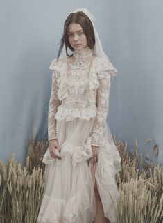 Chintz, Pattern Clash & Maximalism Meets English Country Garden: Most Curious are Back for their Spring 2020 Wedding Shows! · Rock n Roll Bride Wedding Fair, Wedding Show, Dream Wedding, Dream Dress, I Dress, Dresses Uk, Vintage Dresses, Bridal Gowns, Wedding Gowns