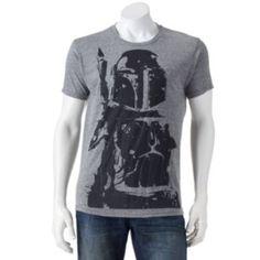 Star Wars Boba Fett Distressed Tee - Men