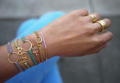 Simple Shamballa BraceletFree Diy Jewelry Projects   Learn how to make jewelry - beads.us