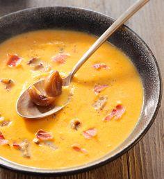 Velouté de maïs et courge Butternut - Découvrez les recettes faciles Géant Vert pour toutes les occasions et pour toute la famille