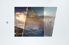 Animated CSS3 Photo Stac