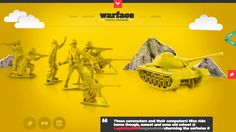 Warface - responsive webdesign