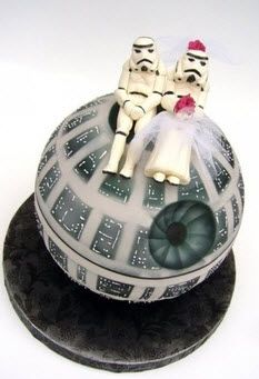 Star Wars Cake for when he gets married