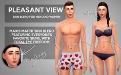 PLEASANT VIEW SKIN BLEND at Gohliad • Sims 4 Updates
