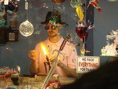 The Glass Blowing Shop in Helen, Ga.
