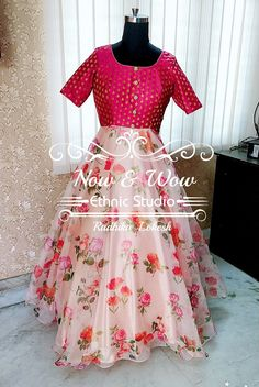 Anarkali Dress, Long Anarkali, Lehenga Choli, Long Gown Dress, Long Dresses, Long Gown Design, Girls Frock Design, Indian Gowns Dresses, Frocks For Girls