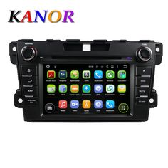 For Mazda CX-7 Car Audio Quad-core Android 5.11 Automotive GPS Navigation System with 1024*600 DVD Cassette Player Bluetooth SD