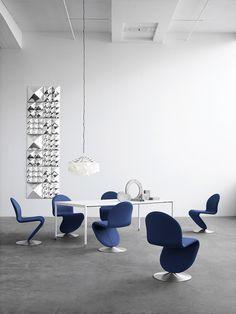 Modular 3D Wall Tile MIRROR SCULPTURES by Verpan | design Verner Panton