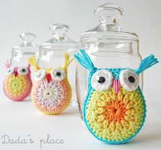 "This ""Easy Crochet Owl Tutorial"" does look easy, and super cute! I love small projects that can be completed in one sitting!"