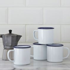 Falcon Enamelware Mugs