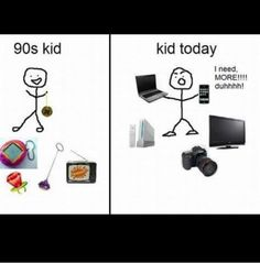 90s kid- oh my gosh I remember all that stuff! :)