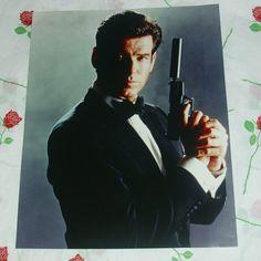 James Bond 007 Pierce Brosnan Glossy Photo by WelshGoatVintage