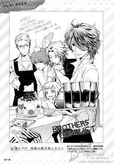 Ukyo getting irritated at sneaky Masaomi and Kaname while Wataru and Iori don't give a sh**