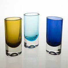 Glass Design, Design Art, Lassi, Bukowski, Finland, Modern Contemporary, Shot Glass, Scandinavian, Glass Art