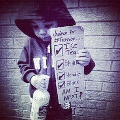 Justice For Trayvon Martin!!!