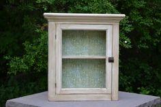 Vintage Refinished Medicine Cabinet by TheKeepingShop on Etsy