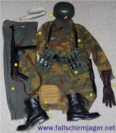 Combat Gear with MP-40