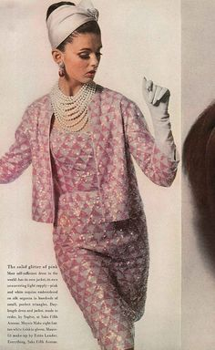 October Vogue 1962 by dovima_is_devine