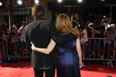 David Duchovny and Gillian Anderson at IWTB premiere