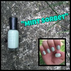 8. Sally Hansen Hard As Nails Xtreme Wear in Mint Sorbet  #SallyHansen #Nails #NailPolish #NailPolishCollection