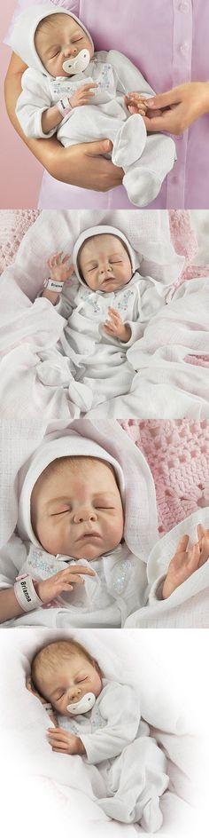 Denise Farmer Cherish Collectible Lifelike Vinyl Baby Doll: So Truly Real - by Ashton Drake Real Looking Baby Dolls, Real Baby Dolls, Real Doll, Reborn Baby Dolls, Creepy Baby Dolls, Ashton Drake, Be My Baby, Farmer, Angel