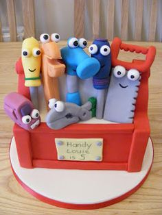 Cakes By Karen: Handy Manny Cake