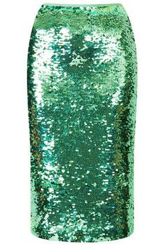 Emerald sequin pencil skirt | ::style inspiration:: | Pinterest ...