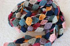 Harlequin-scarf, Pirjon kädenjälkiä