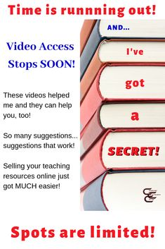 Sign up for this free workshop series.  If you are a teacherpreneur it will change your life! This offer ends  June 17, 2019. (Affiliate link)  #teachertraining #teacherworkshops #teacherspayteachers #freeteacherworkshops