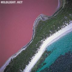 Hillier Lake in Australia