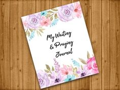 Guided Prayer Journals (Autographed Copies) Prayer Journals, Prayers, Encouragement, Notes, Gifts, Etsy, Report Cards, Presents, Prayer