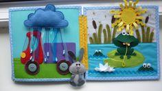 Яркая книжка для веселого карапуза! - Сообщество «Рукоделие» / Рукоделие So many cute ideas!!!