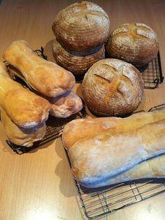 Ciabatta & Sourdough for bread club